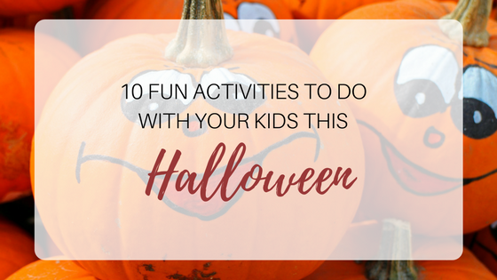 Fun Activities For Kids This Halloween